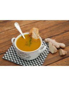 Sopa abóbora com gengibre (500 g)