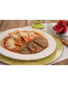 Ravioloni ao tomato, carne de panela (400g)