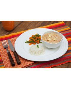 Frango ao catupiry, cenoura, vagem, arroz   (400g)