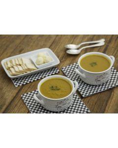 Sopa abóbora com gengibre (950g)